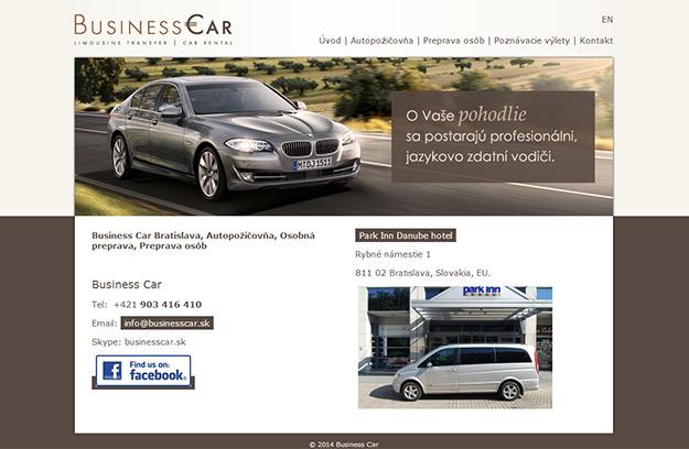 Website - car rental