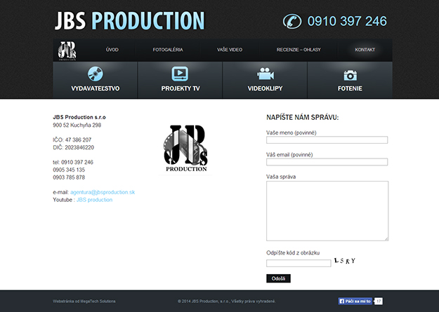 Website JBS Production