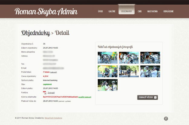 Photostock eshop administration