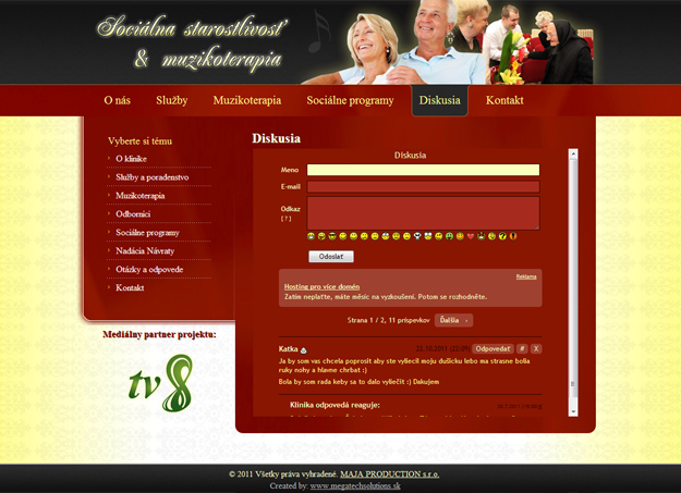 Website social care