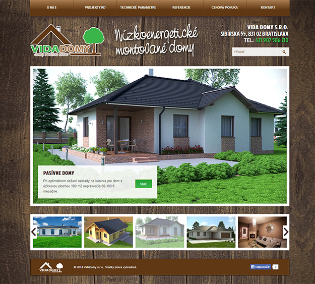 Website Vidadomy
